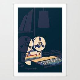 All melody. Art Print