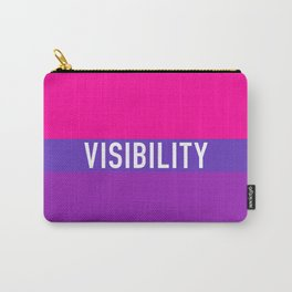 Bisexual Visibility Carry-All Pouch