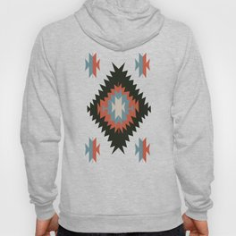 Southwestern Santa Fe Tribal Indian Pattern Hoody