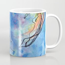 Jellyfish meet Jellyfish Coffee Mug