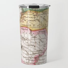 Vintage Map of The Carolinas (1780) Travel Mug