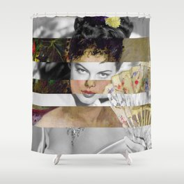 Berthe Morisot's At the Ball & Ava Gardner Shower Curtain