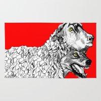 predator Area & Throw Rugs featuring Predator by Wellington Sun