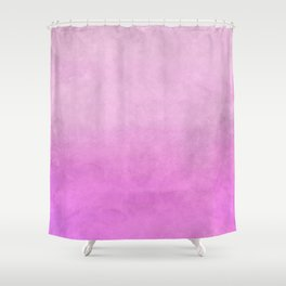 Modern abstract pink lilac watercolor gradient Shower Curtain