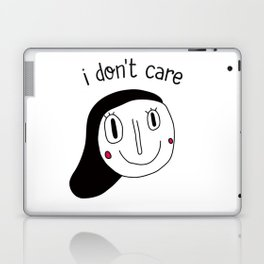 I don't care Laptop & iPad Skin