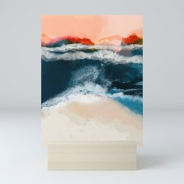 water world Mini Art Print