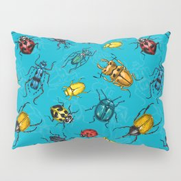 Beetles Pillow Sham