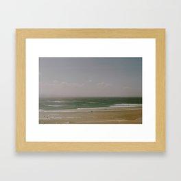 The Pass Framed Art Print