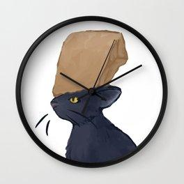 Smokey Wall Clock