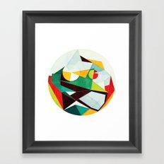 On Time Framed Art Print