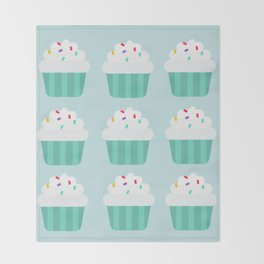 Cupcake Throw Blanket