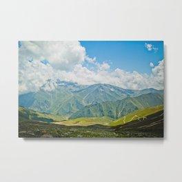 Mountains of Kashmir Metal Print