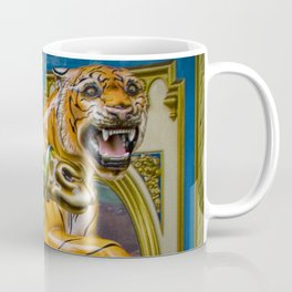 Carousel Camel and Tiger on a Merry-go-round Coffee Mug
