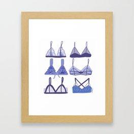 Silky Drawers Framed Art Print