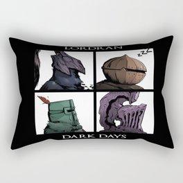 Lordran Dark Days Rectangular Pillow