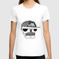italian T-shirts featuring Italian Skull  by Mr. JJ