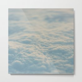 above the clouds ... Metal Print