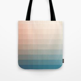 Lumen, Turquoise and Pink Glow Tote Bag