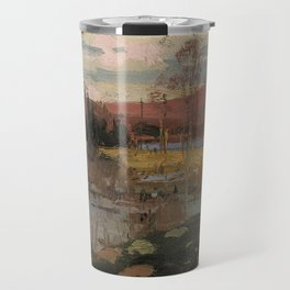 Tom Thomson - Spring in Algonquin Park - Canada, Canadian Oil Painting - Group of Seven Travel Mug
