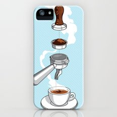 4 reasons why coffee is awesome iPhone (5, 5s) Slim Case