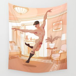 Finally All Alone Wall Tapestry