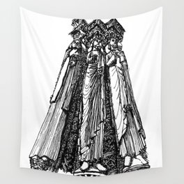 power of three Wall Tapestry