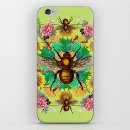 Bee Mandala iPhone Skin