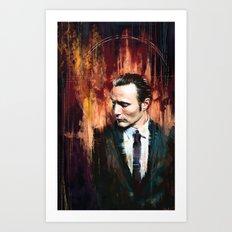 Dr. Hannibal Lecter Art Print