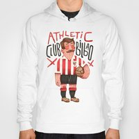 Hoodies featuring Athletic Club Bilbao by Lawerta