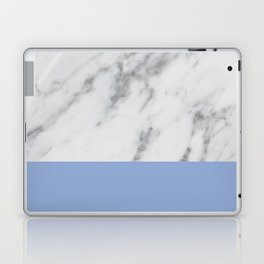 Serenity Marble Laptop & iPad Skin