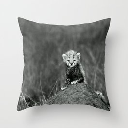 BABY - TIGER - NATURE - LANDSCAPE - ANIMALS Throw Pillow