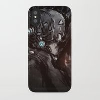 cyberpunk iPhone & iPod Cases featuring Cyberpunk 001  by Thecansone