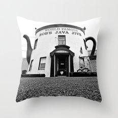 The Java Jive Throw Pillow