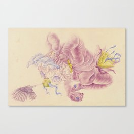 Cooby Canvas Print