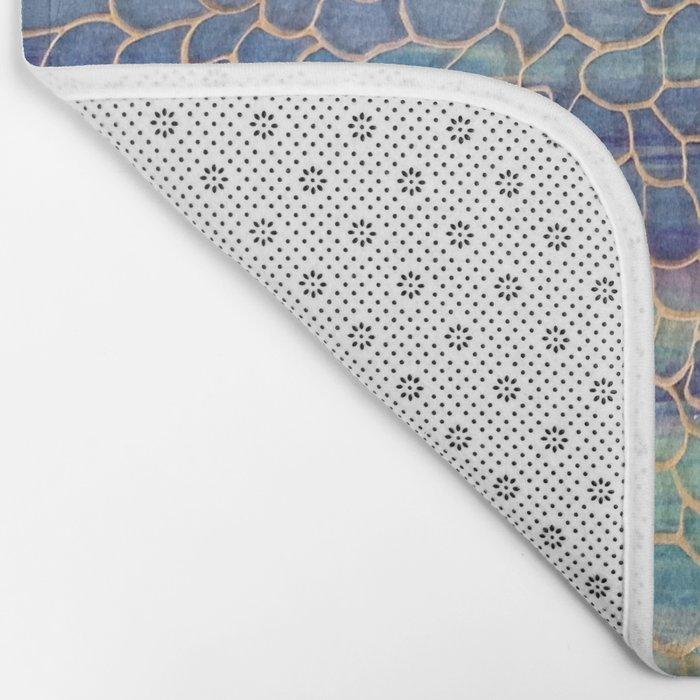 Looking through Lace Bath Mat