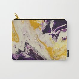 """""""Geaux Tigers"""" by Laurie Ann Hunter Carry-All Pouch"""