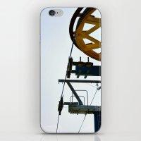 ski iPhone & iPod Skins featuring Ski by radiantlee