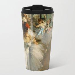 Degas - The Dance Class, 1874 Travel Mug