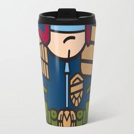 Mitesized Dredd Travel Mug