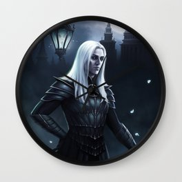 Gaslight Hades Wall Clock