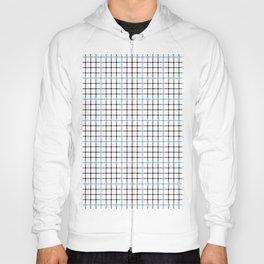 Dotted Grid Weave Blue Black Hoody