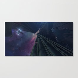 What Goes on in the Depths of Space? Canvas Print