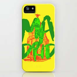 Place: Madrid iPhone Case