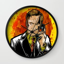 Better Call Saul Wall Clock