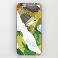 Nils With Wild Geese iPhone & iPod Skin