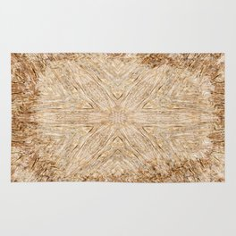 Petrified Wood Kaleidoscope Rug