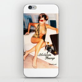First Lady Prostitute Melania Trump Sold Ass on the Weekends to Donald Trump iPhone Skin