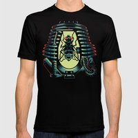 THE FLY: TELEPOD Mens Fitted Tee MEDIUM Black