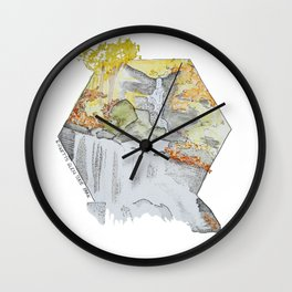 Ricketts Glen 1 Wall Clock
