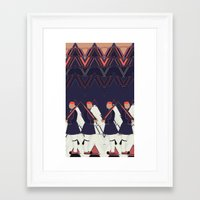 guardians Framed Art Prints featuring Guardians by infloence